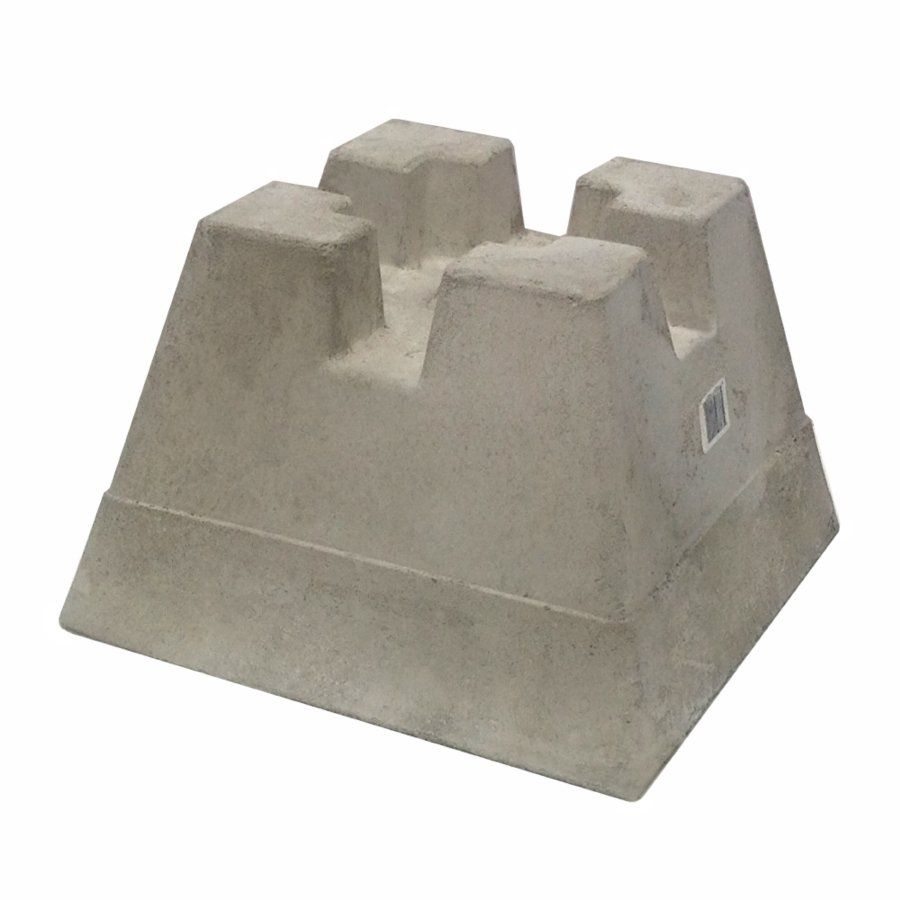 Shop Handi-Block Lightweight Concrete Deck Block at Lowe\'s Canada ...