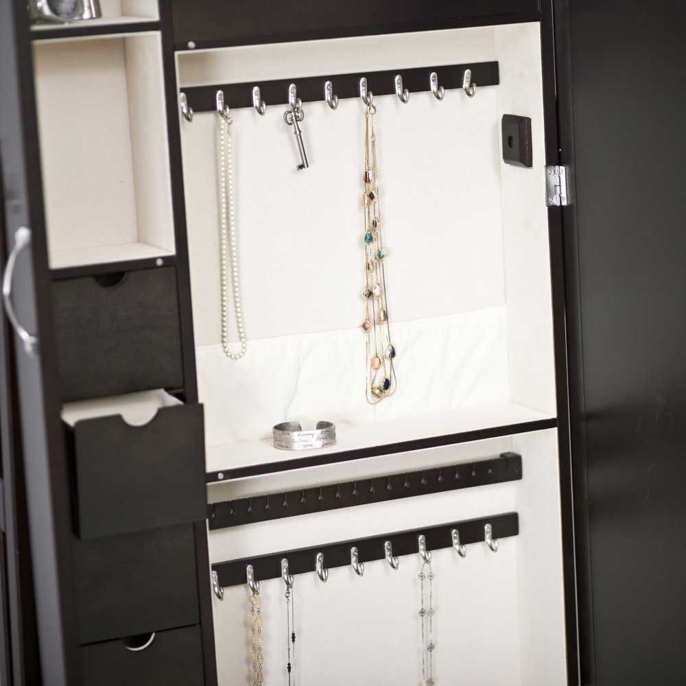 3 best mirrored jewelry armoire with discount price Home Best