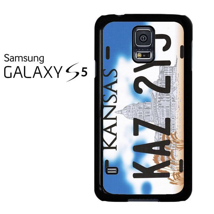 Kansas Kaz 2y5 License Plate Samsung Galaxy S5 Case