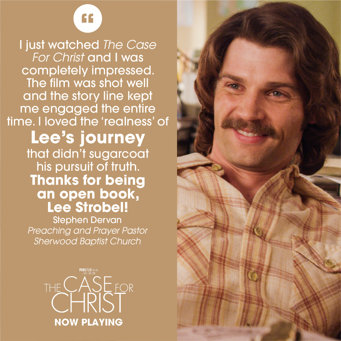 Image result for lee strobel pastor quotes from movie a case for christ