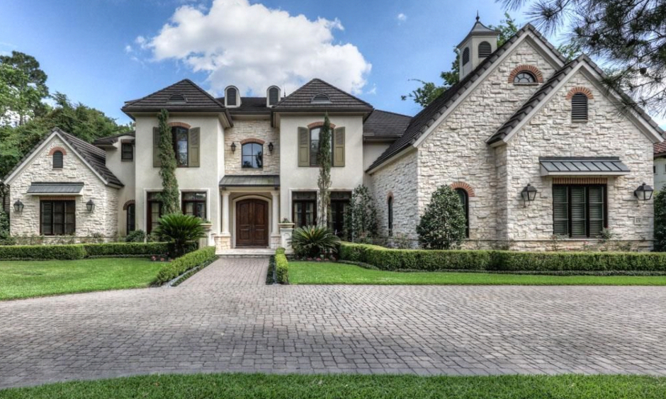 This French Country Style Stone Stucco Home Is Located At 15