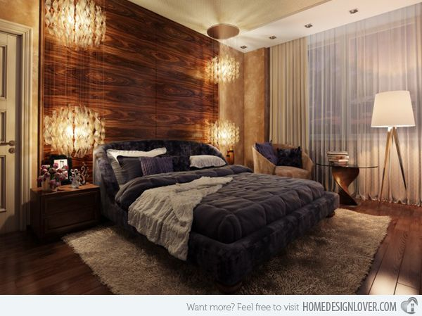 20 Bedrooms With Wooden Panel Walls Home Design Lover Feature Wall Bedroom Wooden Bedroom Bedroom Design