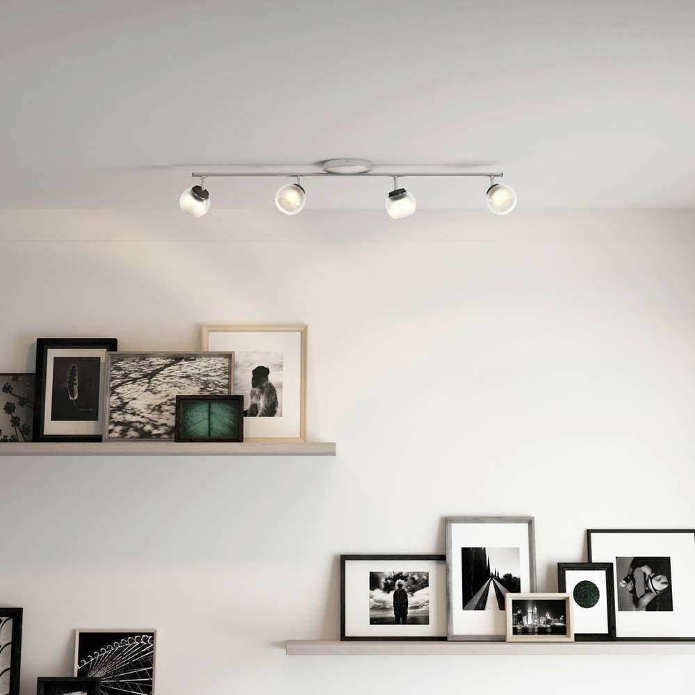 Buy Philips myLiving Balla 4 Light Ceiling Bar Nickel