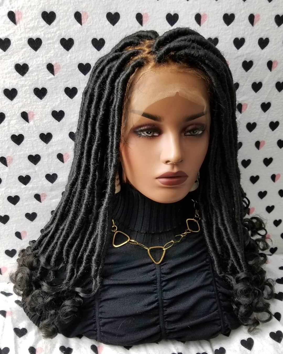 Pin on Braided Lace Wigs