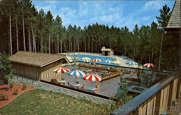 Swimming Pool At Hocking Hills Lodge, Logan Ohio 1970s