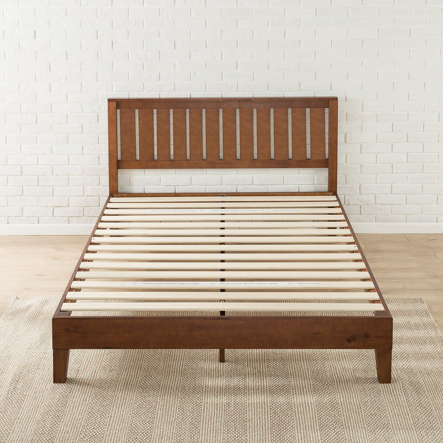 Winston Porter Shaunte Solid Wood Platform Bed (With