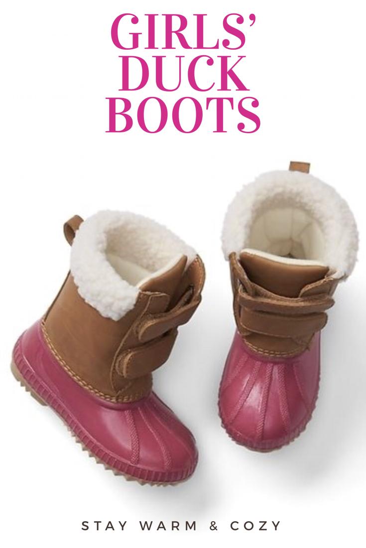 fa796da67 LOVE these!!! | Girls' Cozy #duckboots | #Gap | Girls' boots | Girls ...