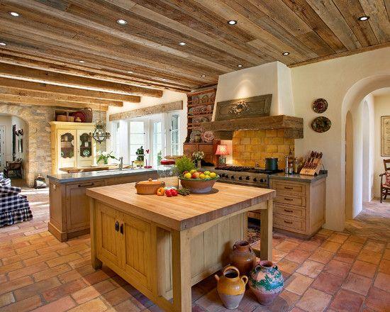 Dosis Arquitectura Disenos De La Cocina Rustica Perfectas Para