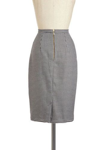 Nine to Thrive Skirt, #ModCloth