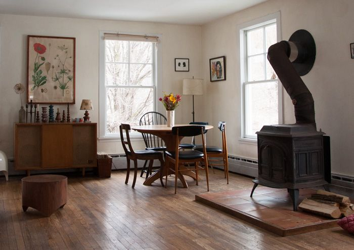 Two Artists Find Home In A Charm-Filled 1900 Farmhouse   Design*Sponge