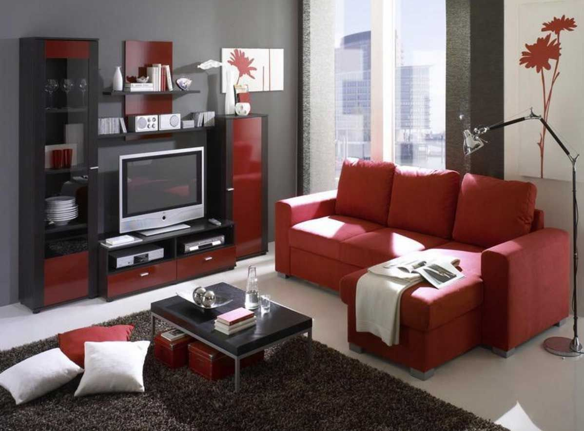 15 Red and Black Living Room Ideas 15 (The Stunning Combo) in