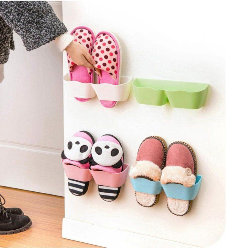 rangement chaussures original en 33 id es super cr atives entr e pinterest rangement. Black Bedroom Furniture Sets. Home Design Ideas