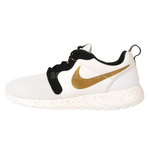 Nike Rosherun HYP PRM QS Hyperfuse 2014 Gold Trophy Roshe Run Mens Running  Shoes