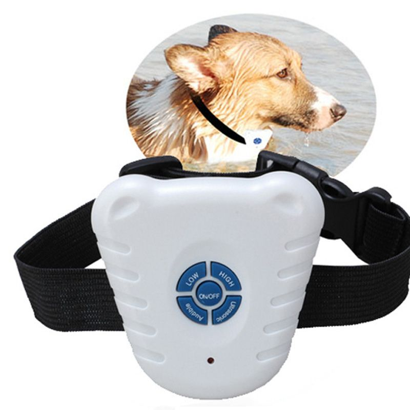 Pet Dog Safe Electronic Ultrasonic Collar Stop Barking Device Stop