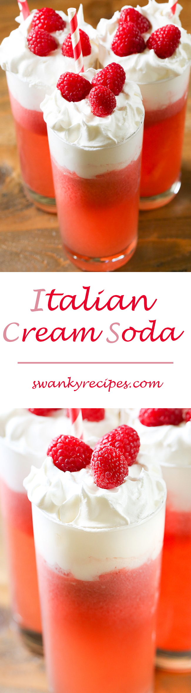 Italian cream soda a fizzy drink made with club soda raspberry italian cream soda a fizzy drink made with club soda raspberry syrup pineapple forumfinder Image collections