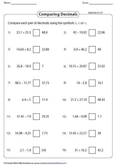 Addition Of Decimals 0 To 100 Addition And Subtraction Worksheets Subtraction Worksheets Decimals Worksheets