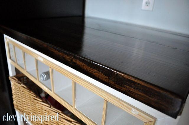 Diy Wood Countertop With Images Diy Wood Countertops Diy Countertops Wood Diy