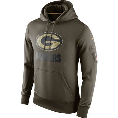 Packers Salute to Service KO Pullover Hoody  b7a641831