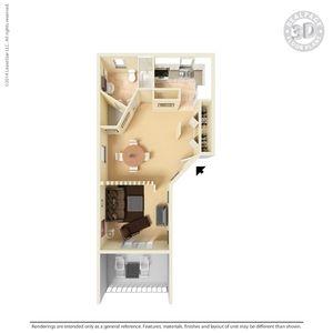 1 2 And 3 Bedroom Apartments In El Paso Tx San Mateo 3 Bedroom Apartment Apartment Floor Plans