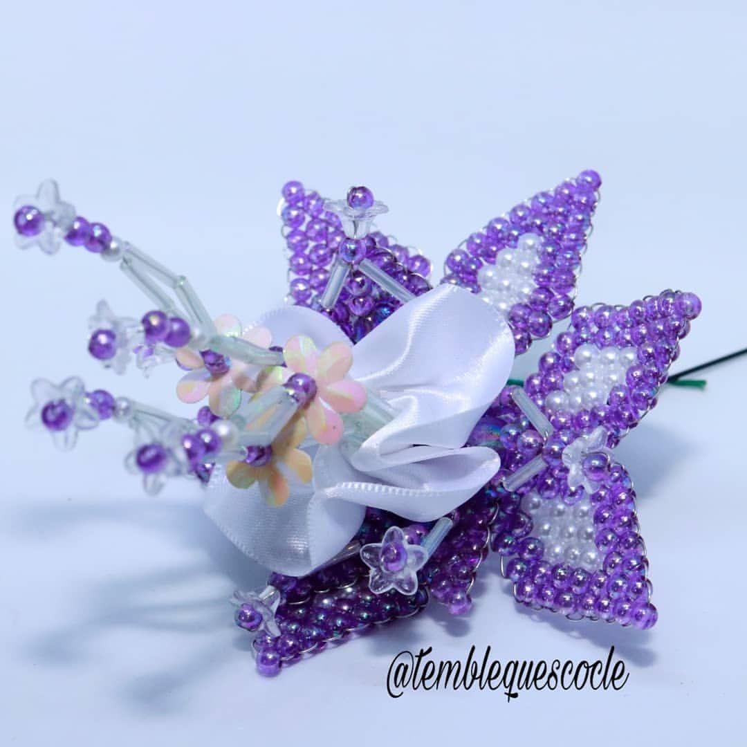 Flor para relleno 💜 Tembleques hecho con mucho amor @temblequescocle #tembleques #cultura #folklore #arte #cultura #cocle #coclelotienetodo