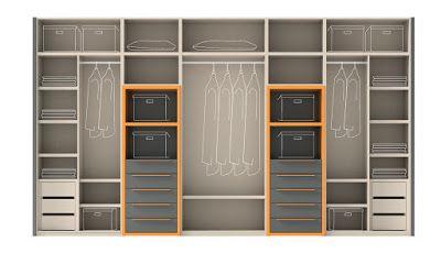 El armario y su interior - Muebles Ros - Armarios
