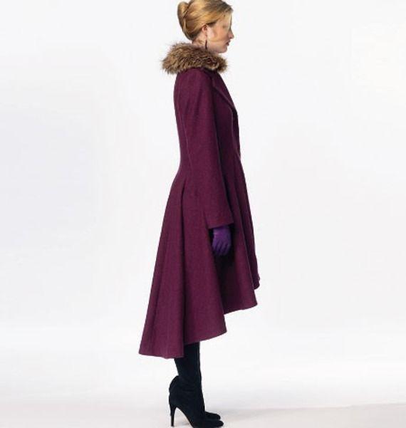 M6800 Patron de manteau Mc Call's pour femme taille 42 à 50