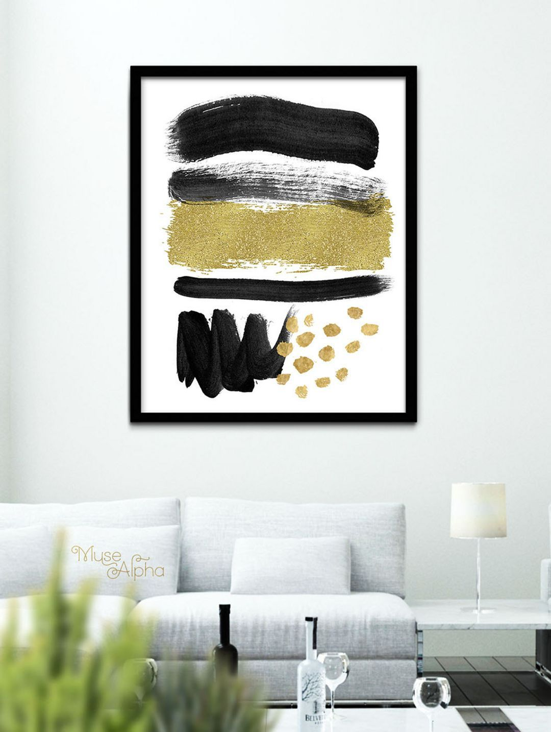Top fascinating black and gold wall decor ideas for your home