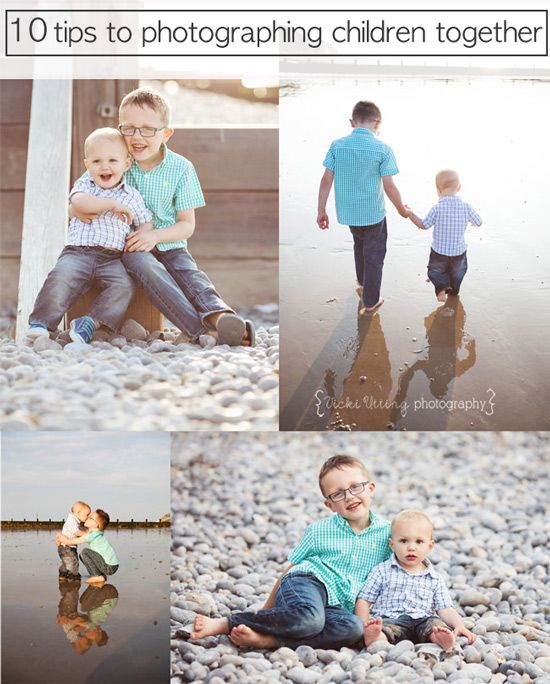 10 Tips To Photograph Children Together Photographing Kids
