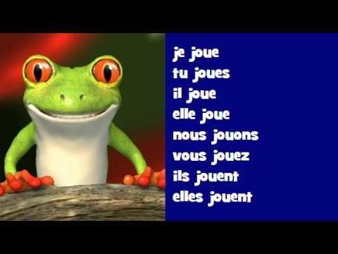 Conjugaison Musicale Indicatif Present Verbe Jouer Verbe Apprendre Le Francais Verbe Etre