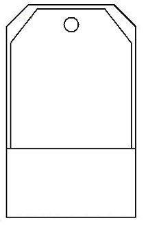 Small Library Pocket Tag Template  Plantillas    Tag