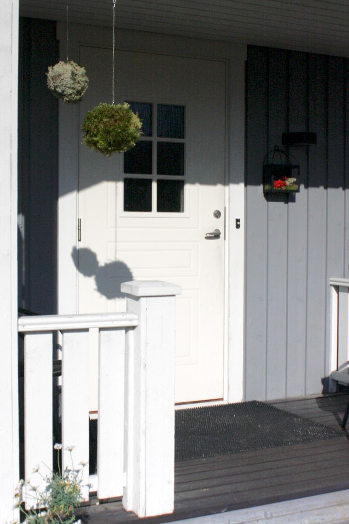Puolitoista kerrosta kotia: Sammalpalloja DIY
