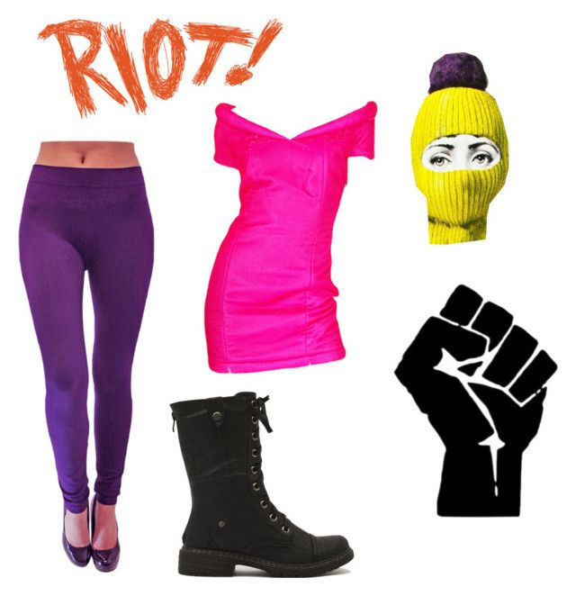 Pussy Riot halloween costume by anna-magdalena on Polyvore
