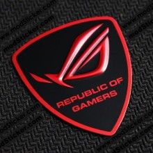 Asus Republic Of Gamers Rog 3d Logo Sticker Desain Seni Komputer