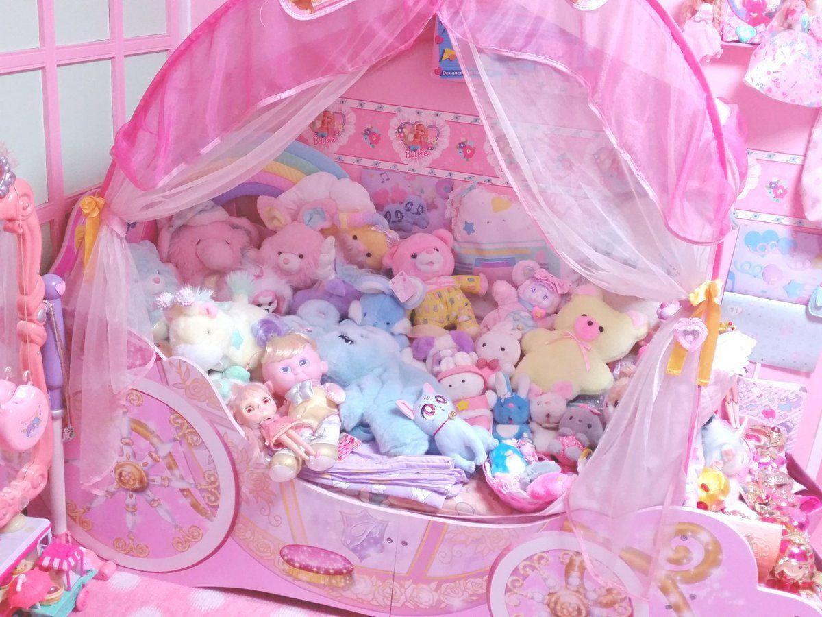 """pastelfairytears: """"♥ """"   Kawaii room, Kawaii bedroom ..."""