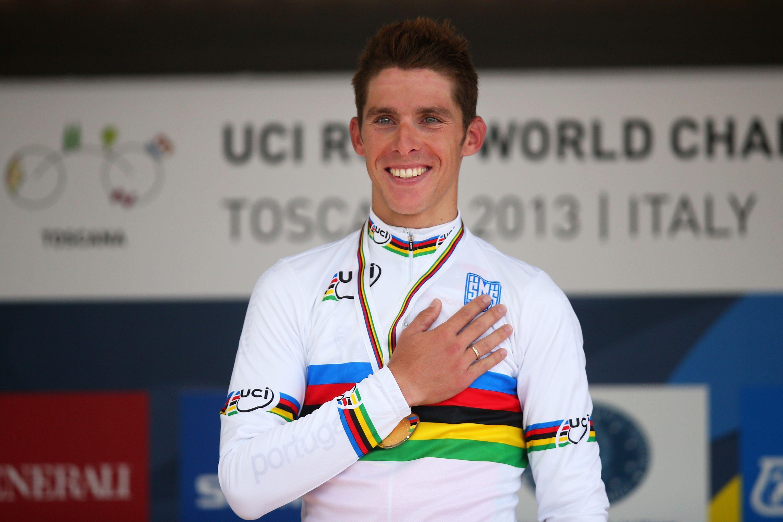FLORENCE ITALY SEPTEMBER 29 Gold medal winner and new world