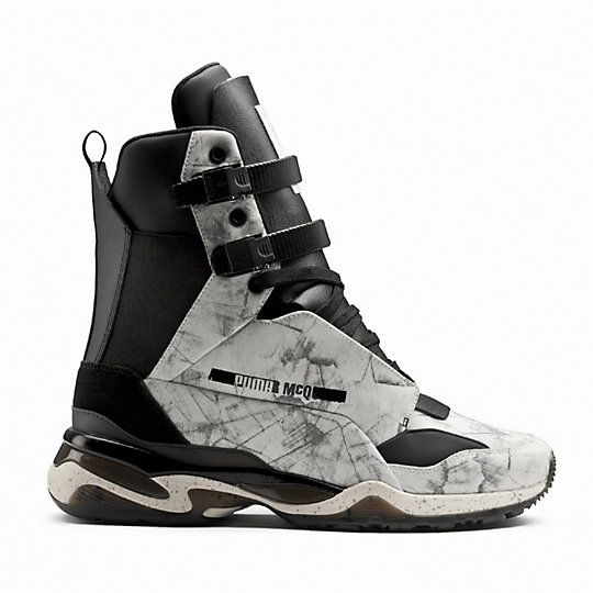 online retailer 640e1 3fa79 The McQ collection is characterized by reflective and iridescent surfaces,  unusual texture mixes and rich leather. The McQ Tech Runner Mid ...