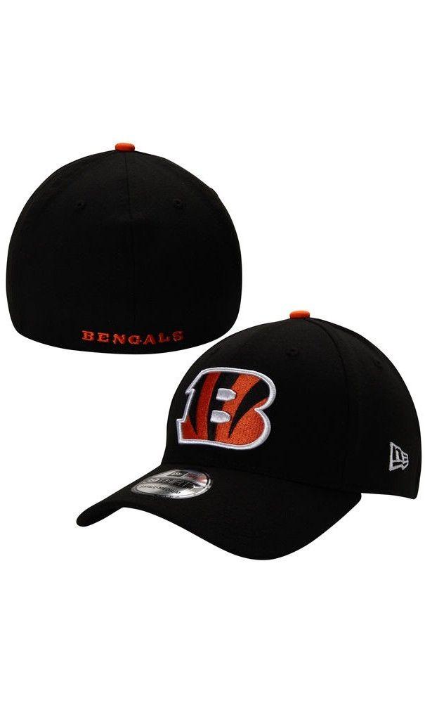 buy popular c1fd8 877ff NFL Mens Cincinnati Bengals New Era Black 39THIRTY Team Classic Flex  Hat   vacation  game