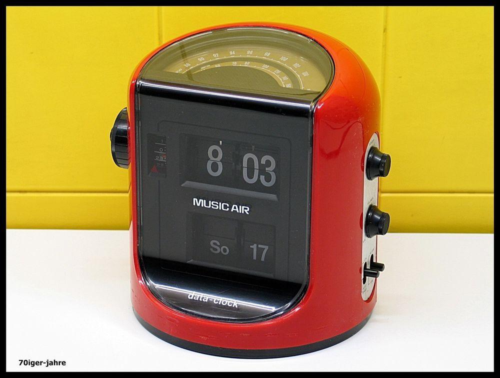 music air data clock klappzahlen wecker klappzahlenwecker. Black Bedroom Furniture Sets. Home Design Ideas