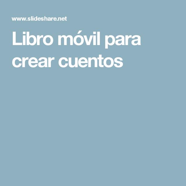 Libro móvil para crear cuentos