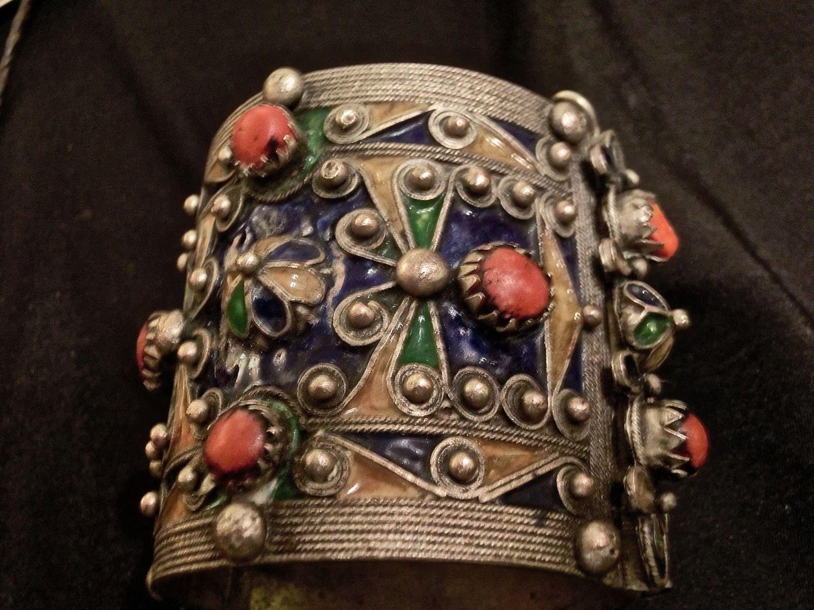 Bijoux Algerie Argent : Amechloukh bracelet kabyle argent kabylie beni yenni