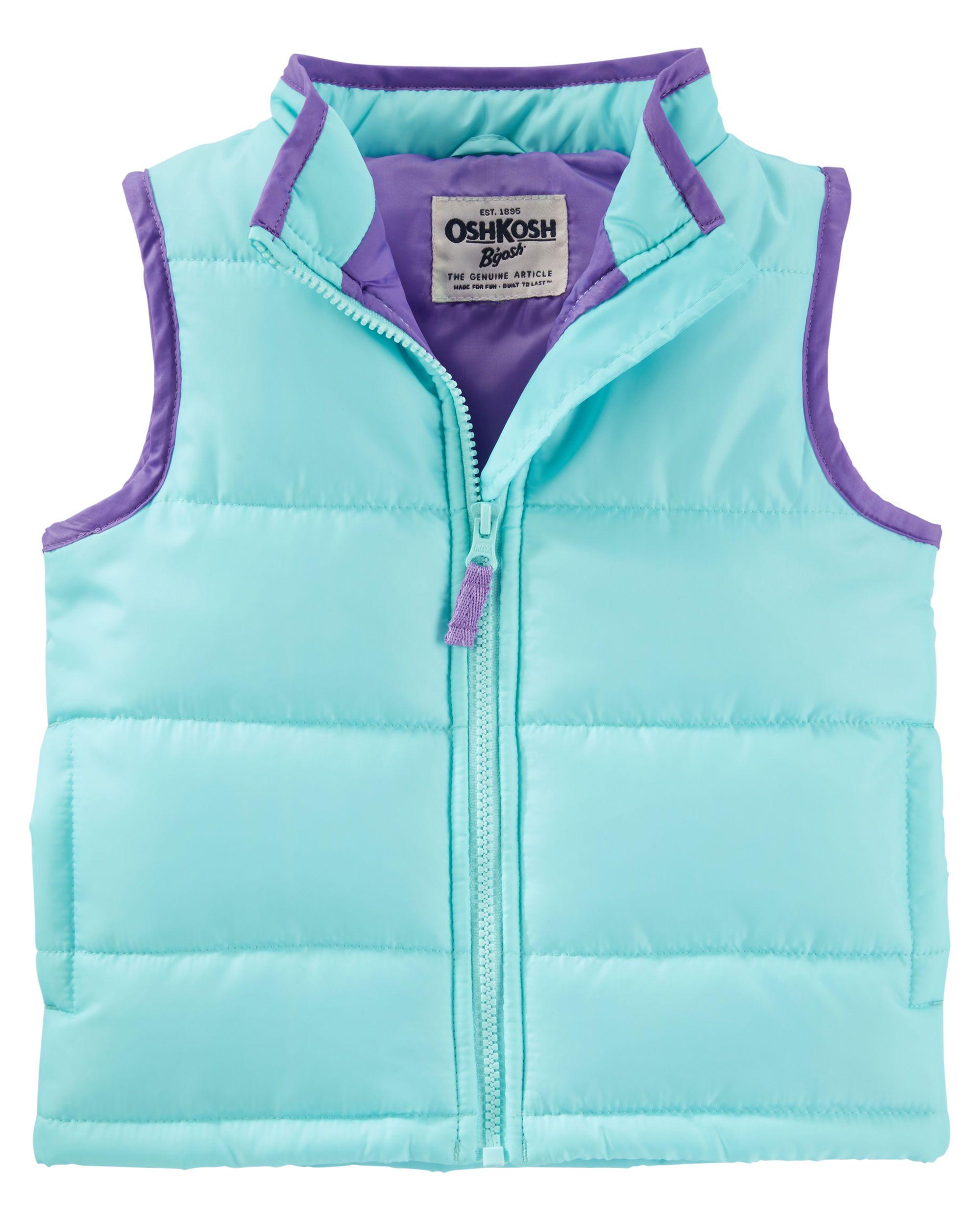 bdf26dea7fe7 OshKosh Quilted Puffer Vest