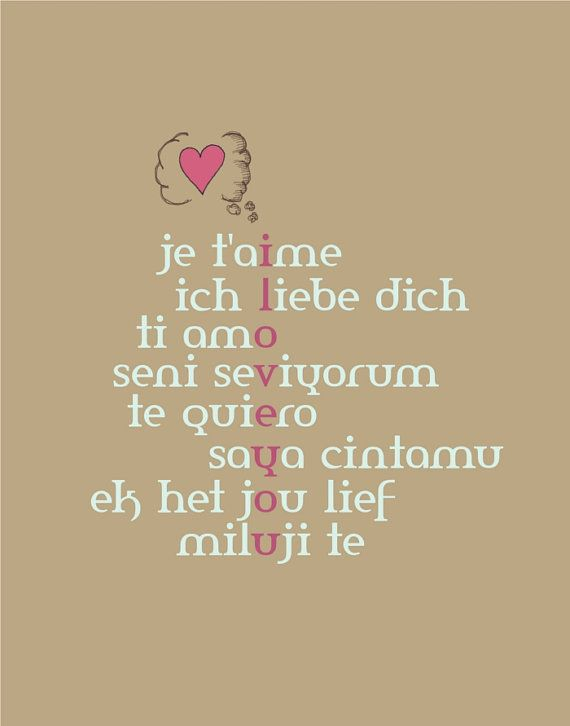 No Matter What The Language I Love You Words Quotes Me Quotes
