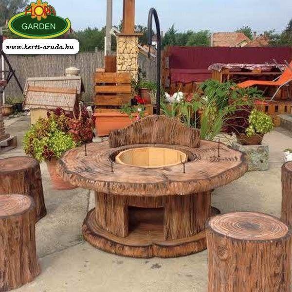 Bográcsozás kerti sütés a legjobb időtöltés a kertben, egy jó társasággal bearanyozhatja napunkat. Nem beszélve, ha a kerti sütő kényelmes és a praktikus órákat tölthetünk el körülötte.  A köböl készült kerti sütőink nem egy két napra lettek gyártva. http://www.kerti-aruda.hu/24-kerti-grillezk-