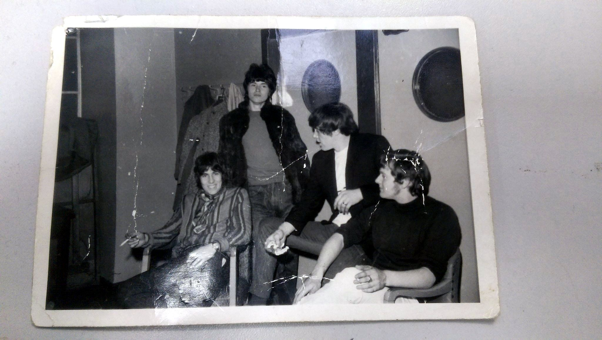 Yours truly second from the left... Age ? 16