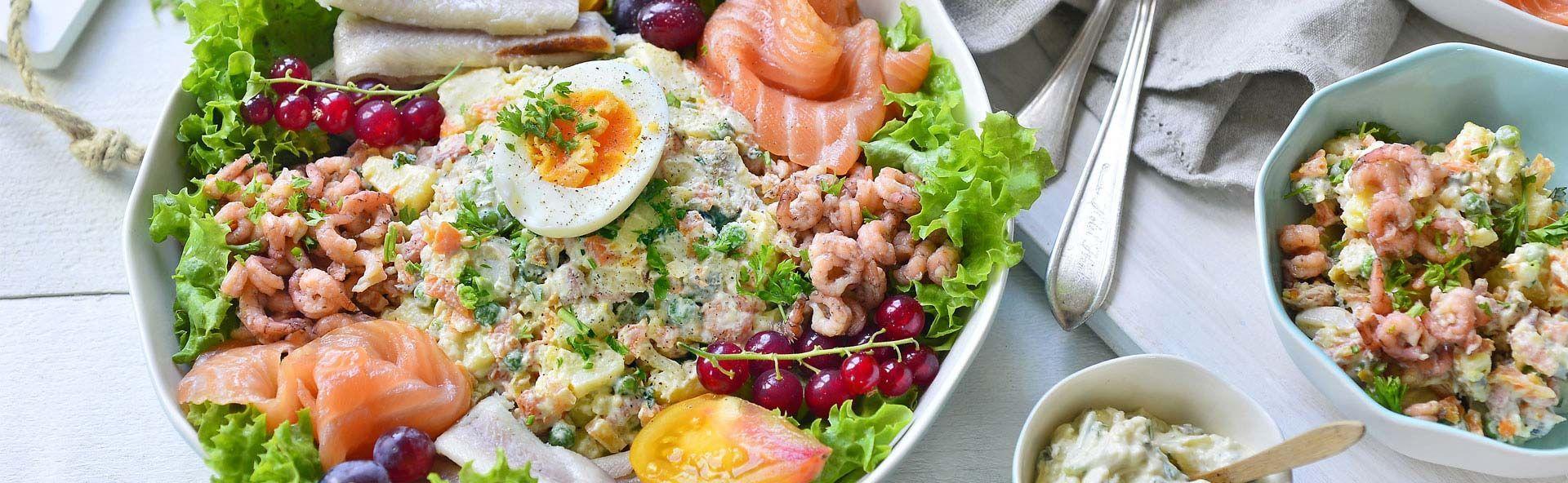 Russische saladeZelfs koude salades kan je maken met je Airfryer Je poft de aaRussische Russische saladeZelfs koude salades kan je maken met je Airfryer Je poft de aa