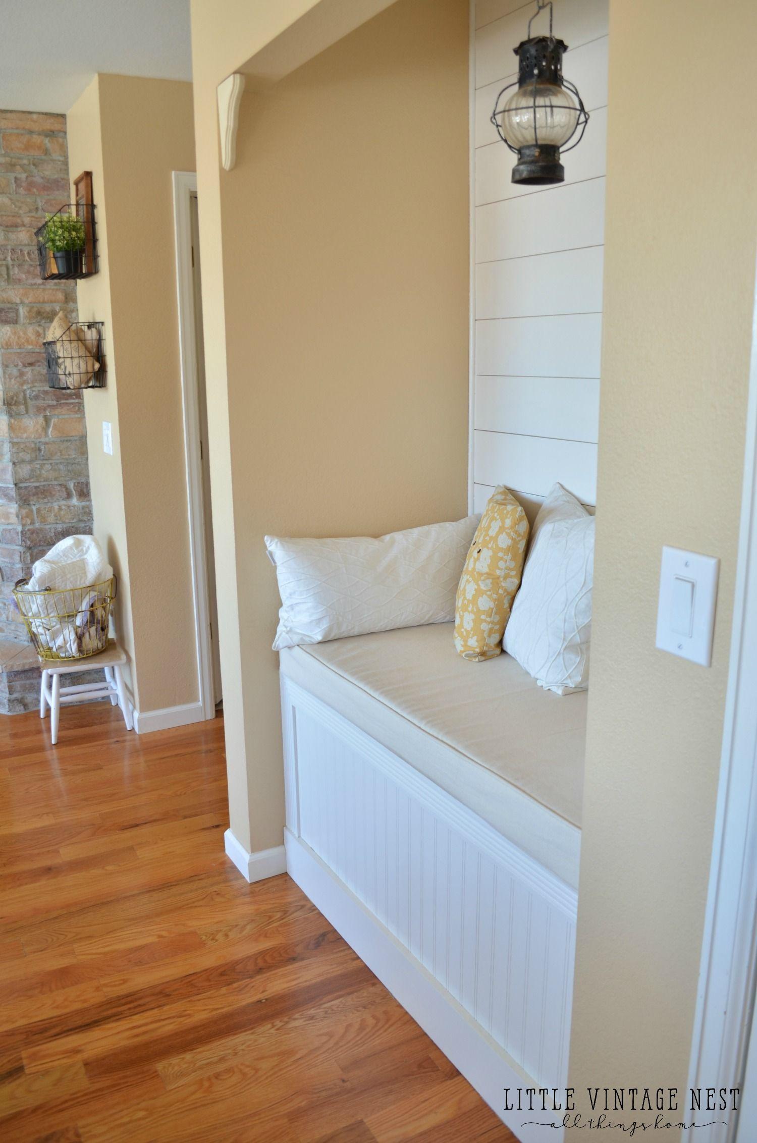 Blonde Paint Color : blonde, paint, color, Reading, Planked, Walls, Paint, Kitchen, Walls,, Nook,, Plank