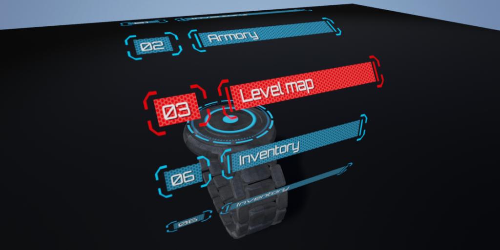 3D hologram menu tutorial Part 1, UE4 | Unreal Engine in