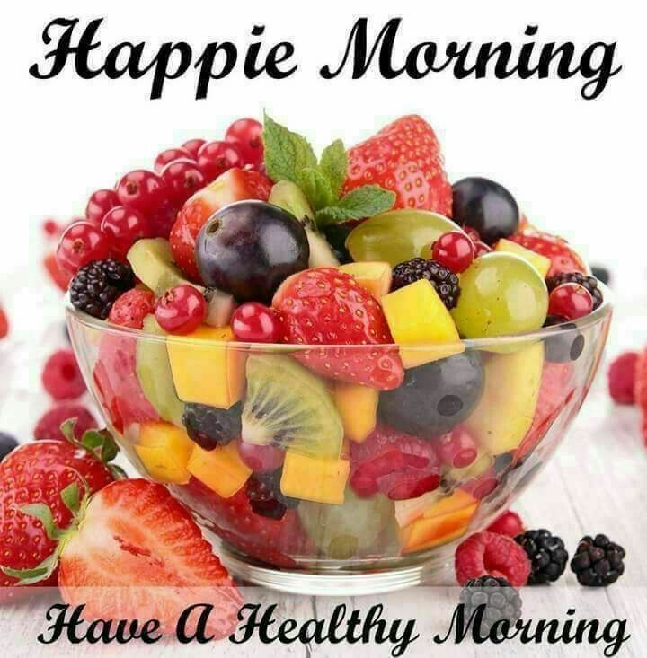 Good Morning Quotes With Fruits