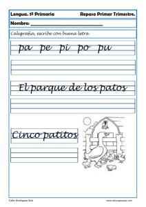 Ejercicios de caligraf a para ni os c mo mejorar la letra caligrafia - Como mejorar la caligrafia ...