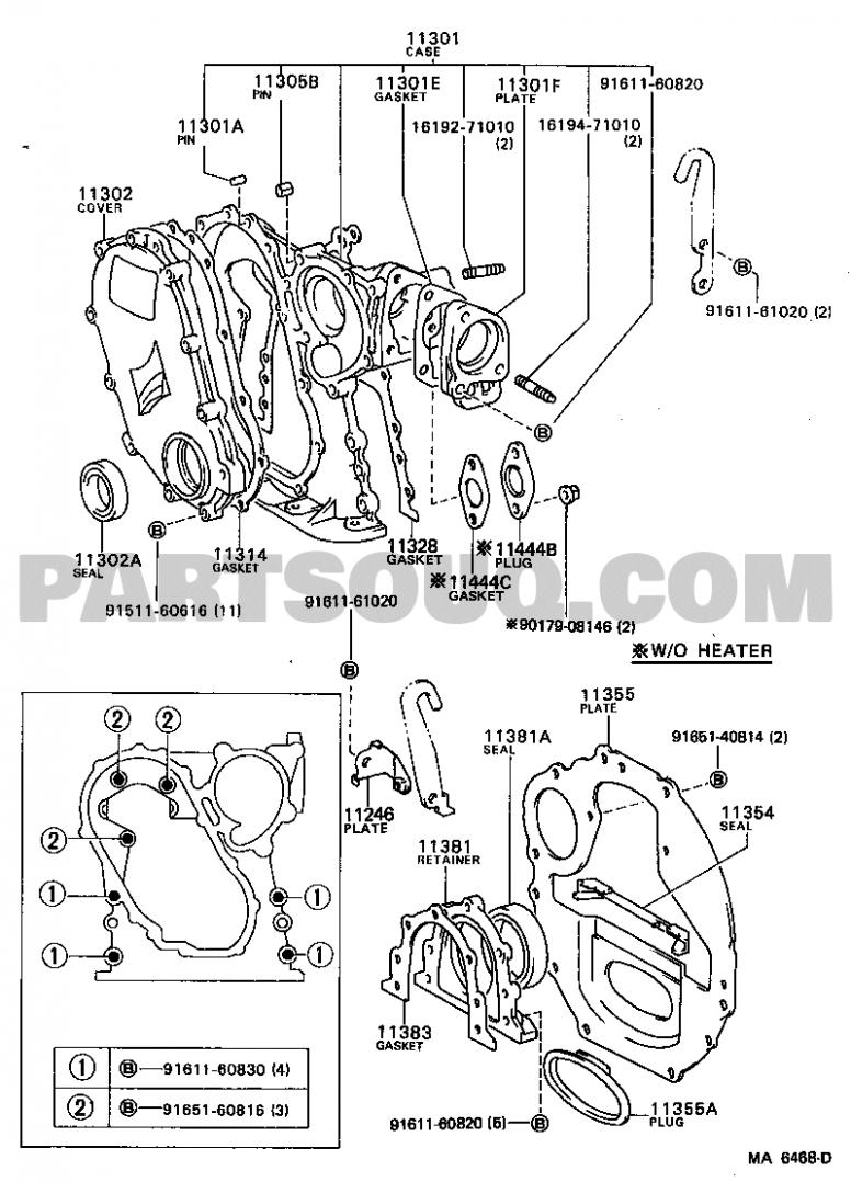 1996 Honda Civic Timing Belt Diagram